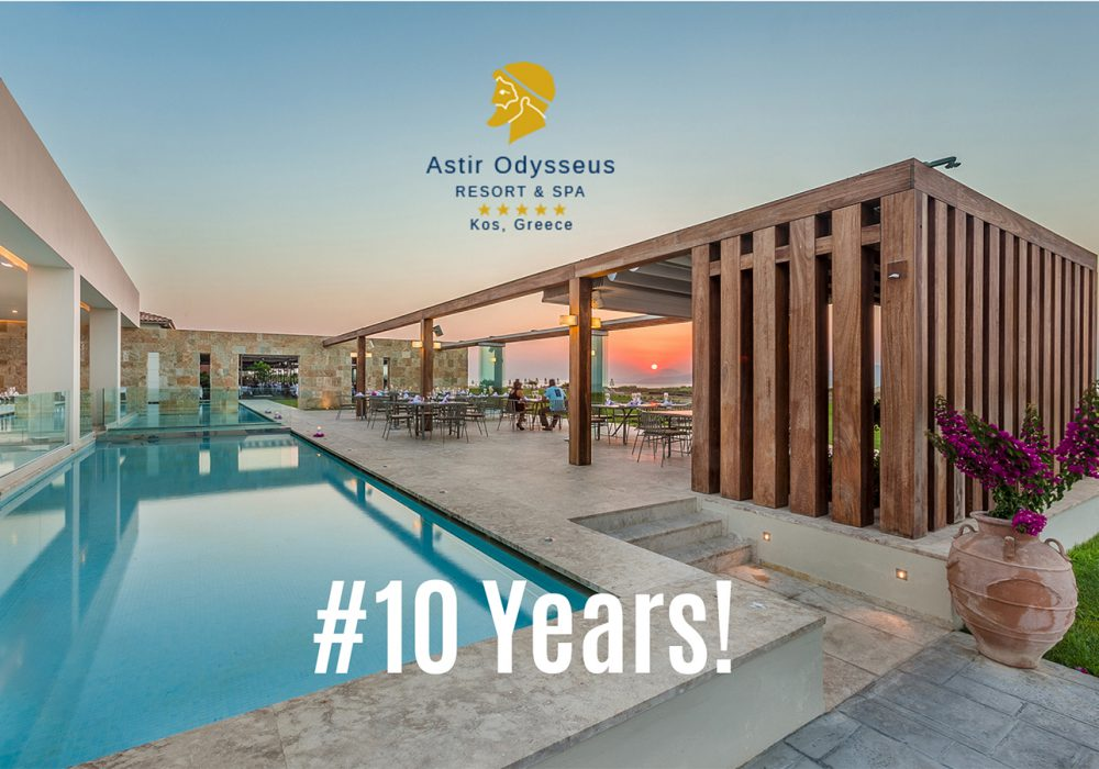 Celebrating 10 Years of Incomparable Hospitality at Astir Odysseus