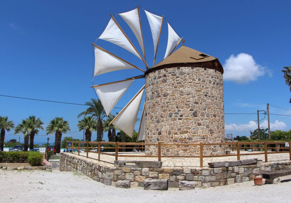 Antimachia Windmill Is a Charming Landmark of Kos Island