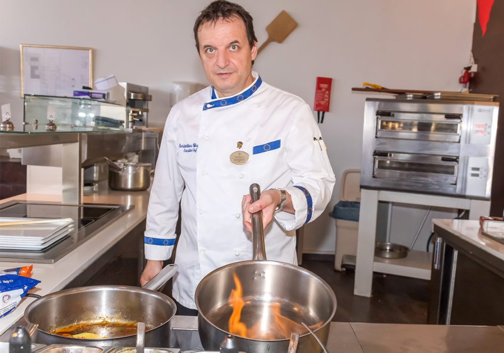 Meet the people of Astir Odysseus: Konstantinos Nikopolitis, Executive Chef