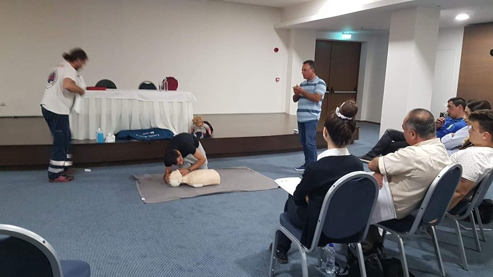 First Aid seminar for the staff of Astir Odysseus