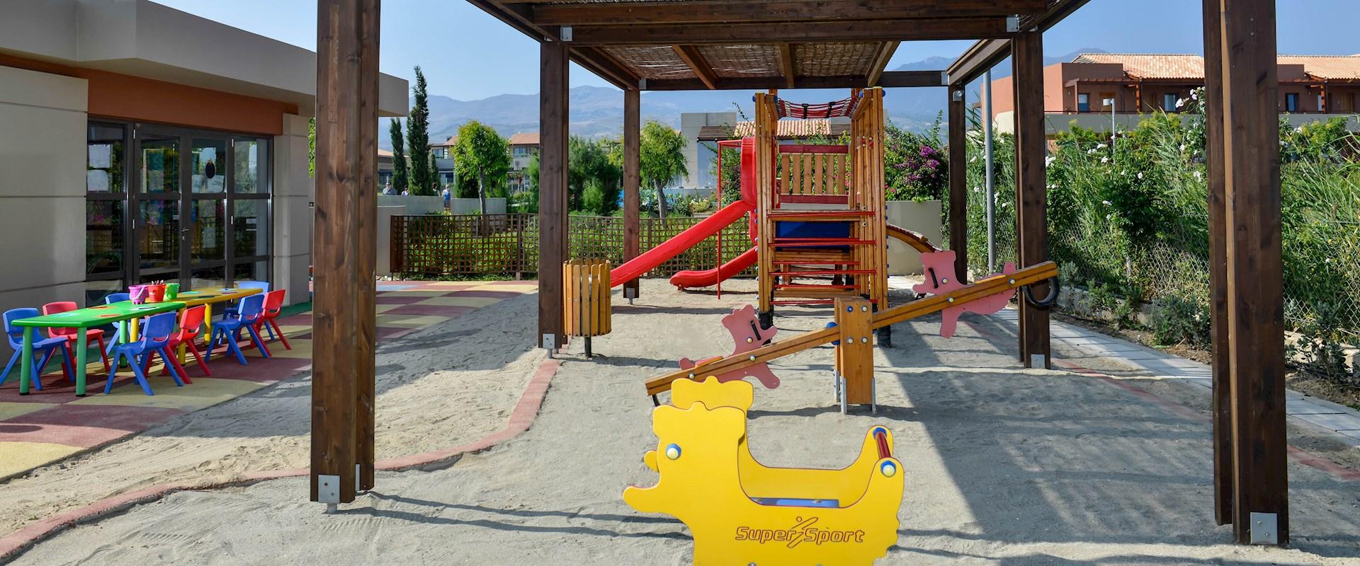 Kos family hotel playground