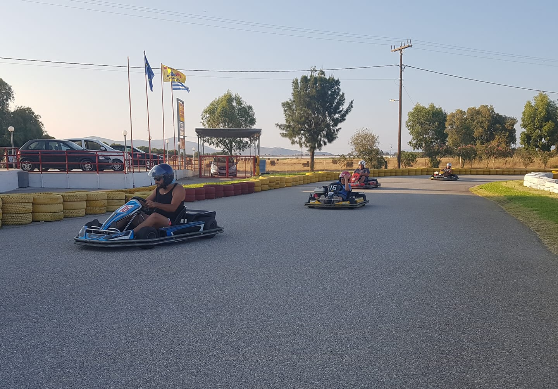 An Afternoon of Family Fun: Marmari Go-Kart Center
