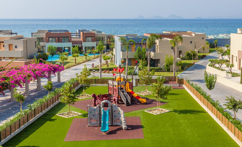 The colorful playground of Astir Odysseus