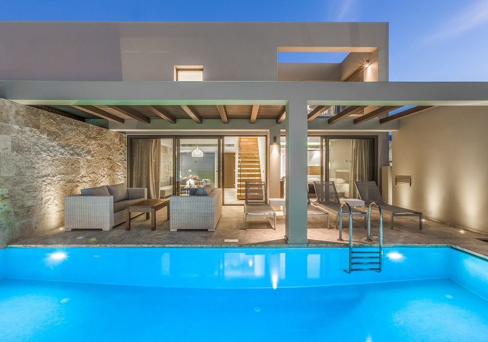 Luxury Holidays in Our Presidential Maisonettes with Private Pool