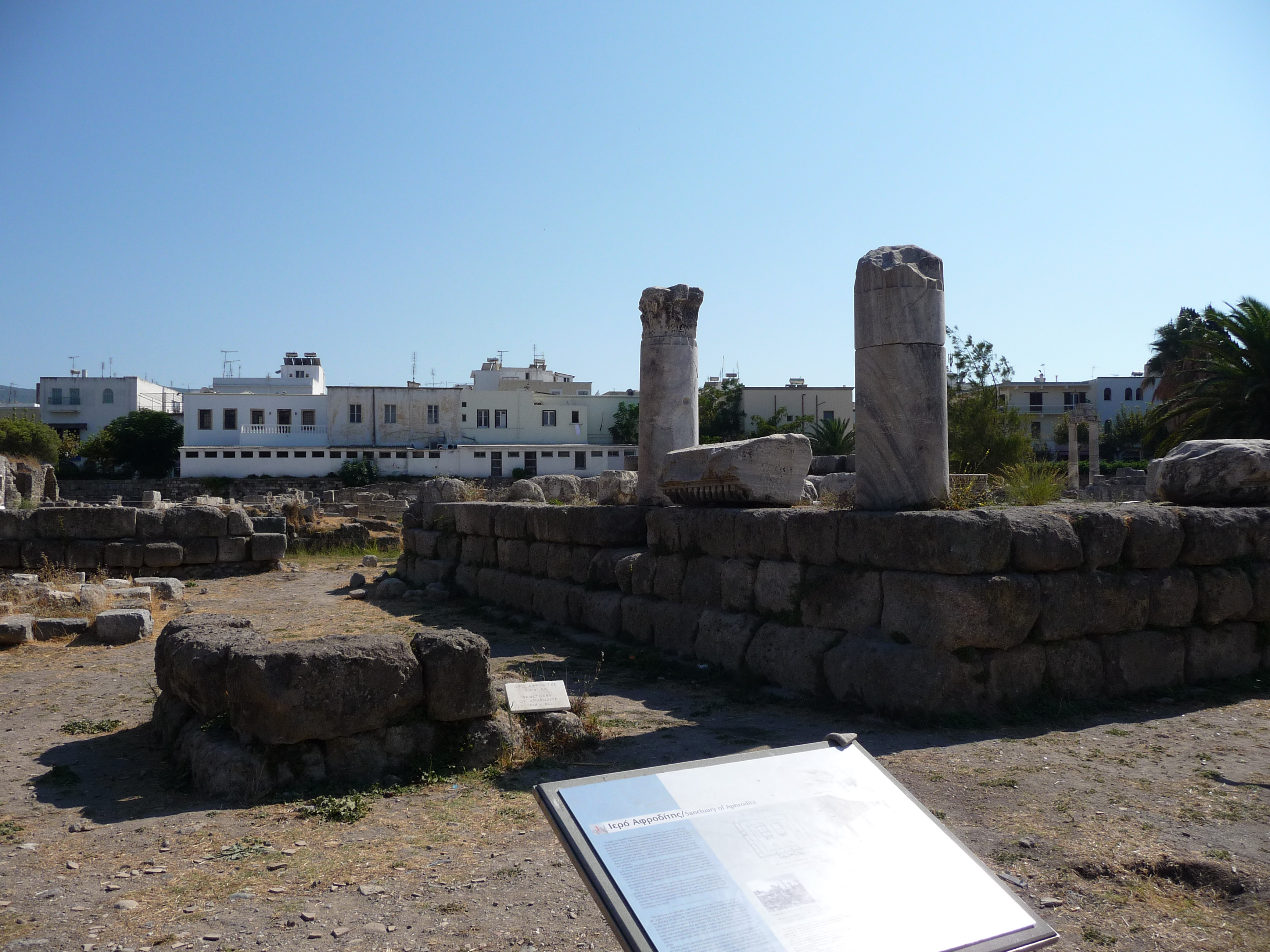 The Sanctuary of Aphrodite in the Ancient Agora.
