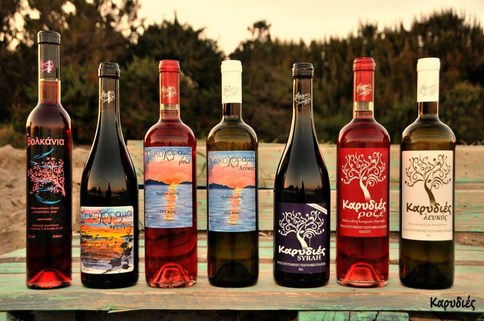 Kos wines from Volcania Winery