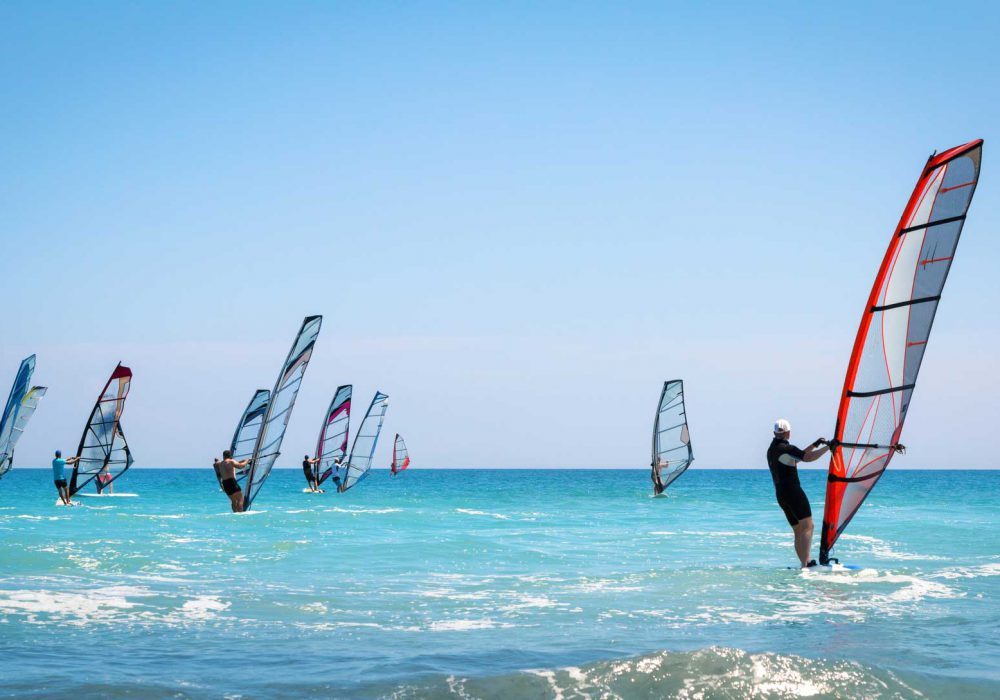 Windsurfing on Kos: Here's Why the Island Is a Hotspot for Windsurfers