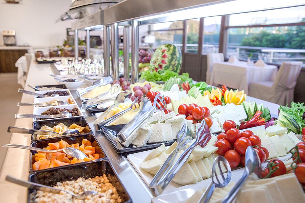 breakfast at Achilles restaurant