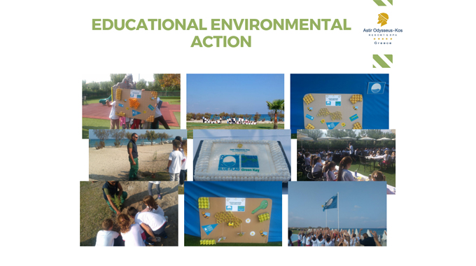 Environmental educational day at Astir Odysseus