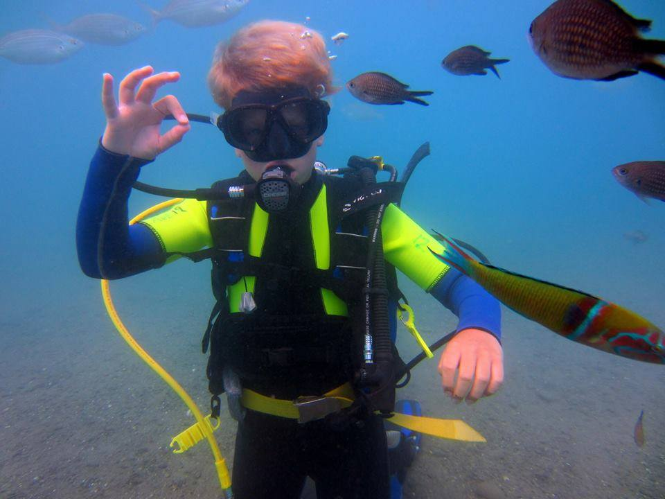Diving in Kos: a Fun Summer Pastime