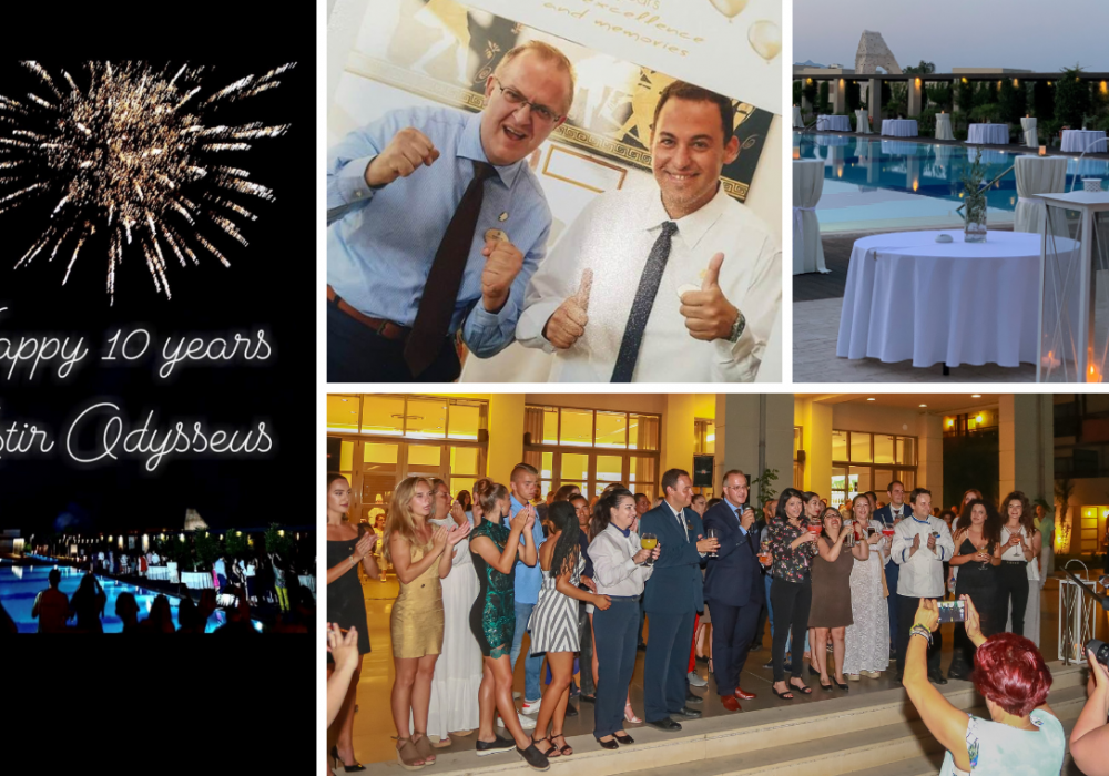 10 years of Excellence and Memories: Astir Odysseus Anniversary Party