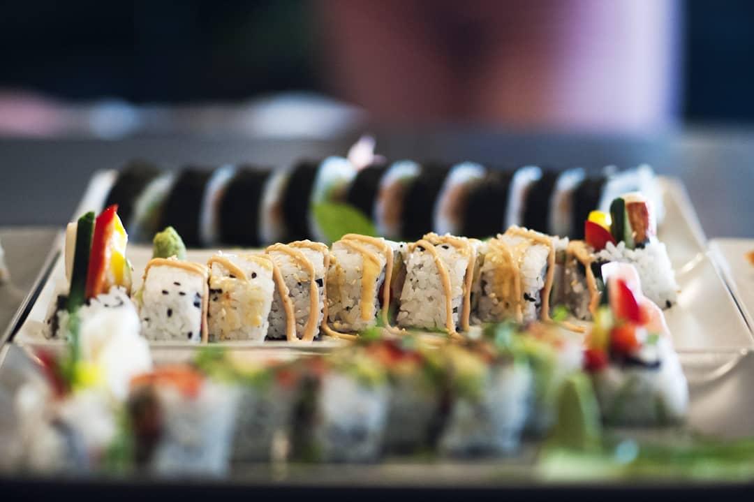 Ten Pin Bowling BO sushi.