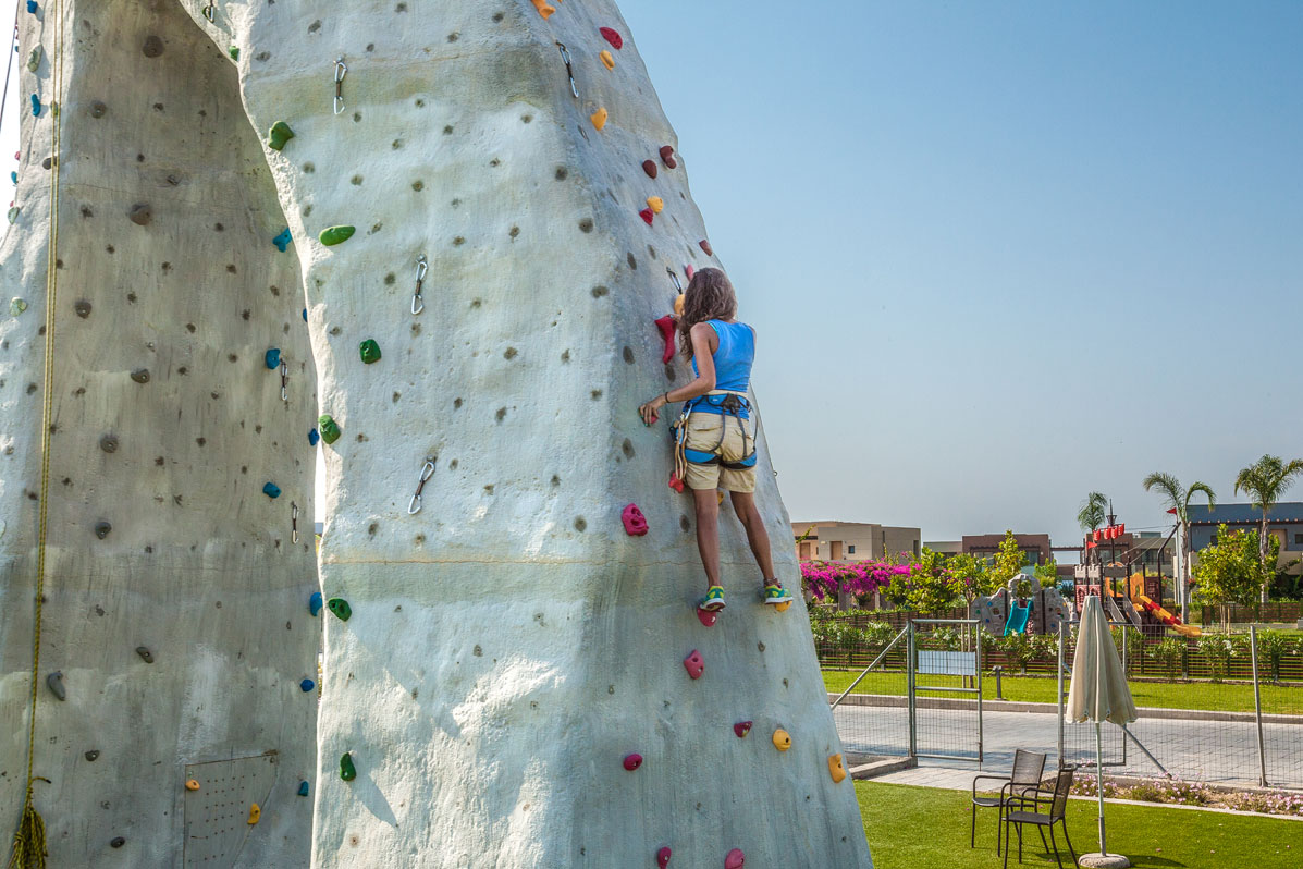wall climbing for active travelers