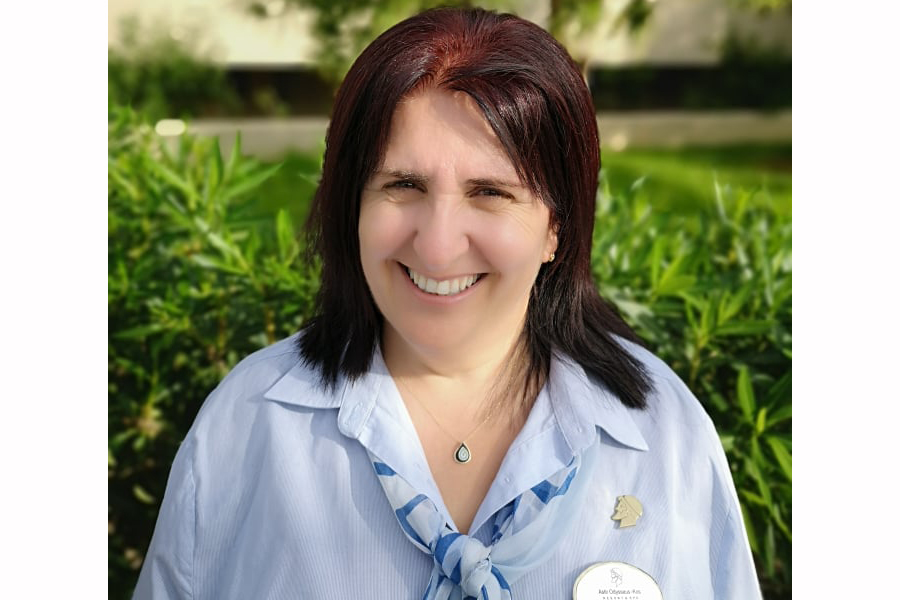 Meet the people of Astir Odysseus: Dionisia Tsimisiri, Housekeeping Manager