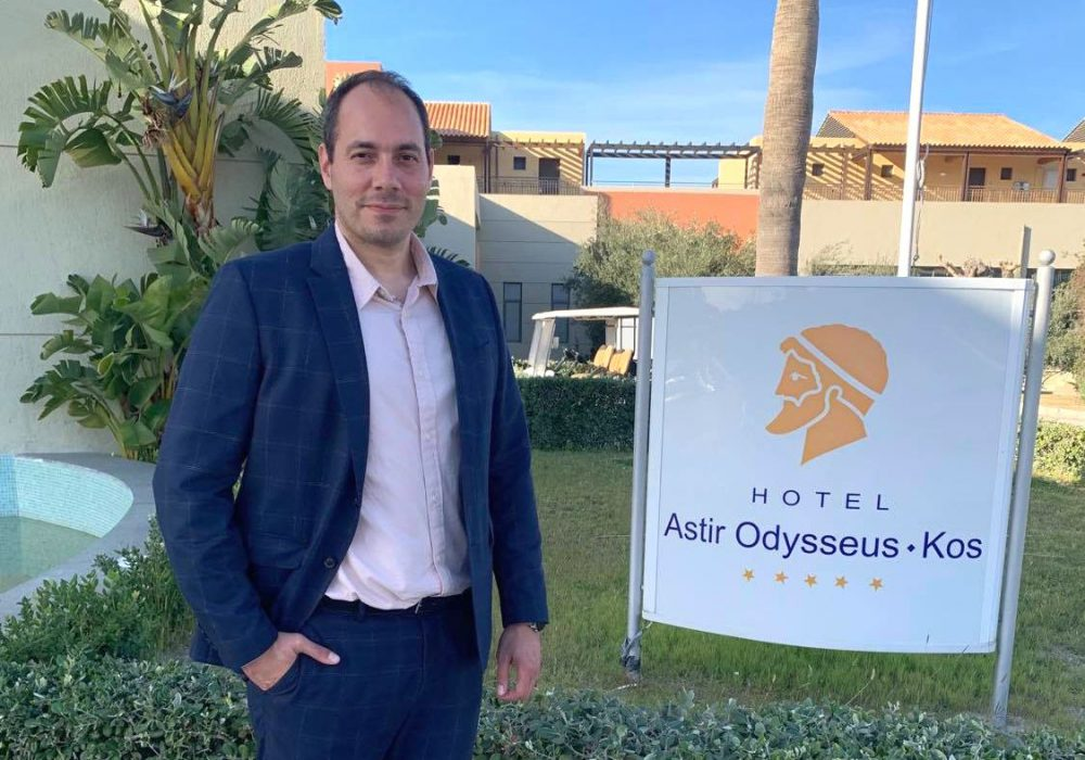Interview – Lefteris Parvantonis: 'The Vision of Astir Odysseus Kos is to Offer High Quality Services'